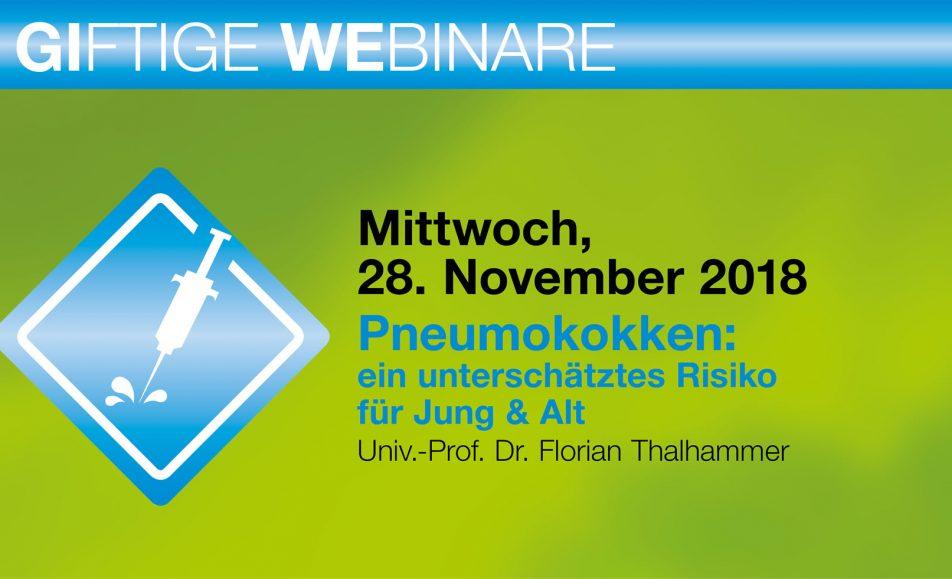 Pneumokokken: ein unterschätztes Risiko für Jung & Alt