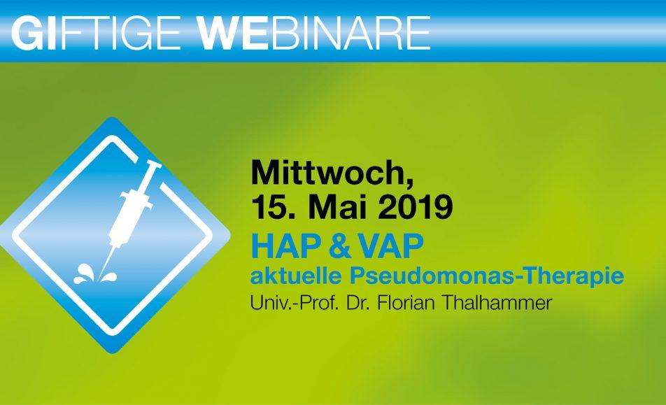 HAP & VAP – aktuelle Pseudomonas-Therapie