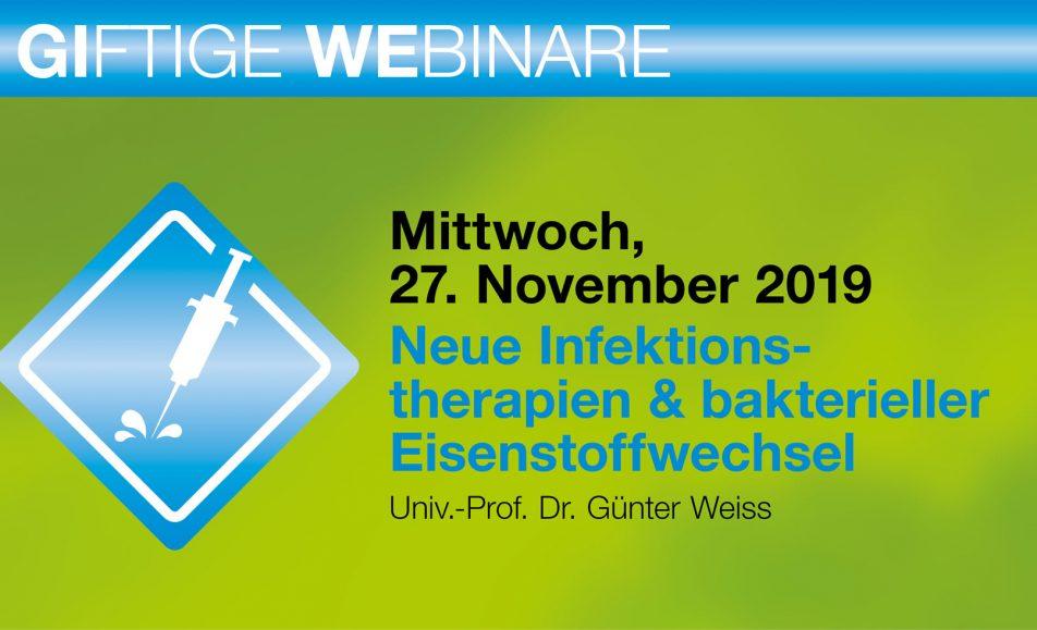 Neue Infektions-therapien & bakterieller Eisenstoffwechsel