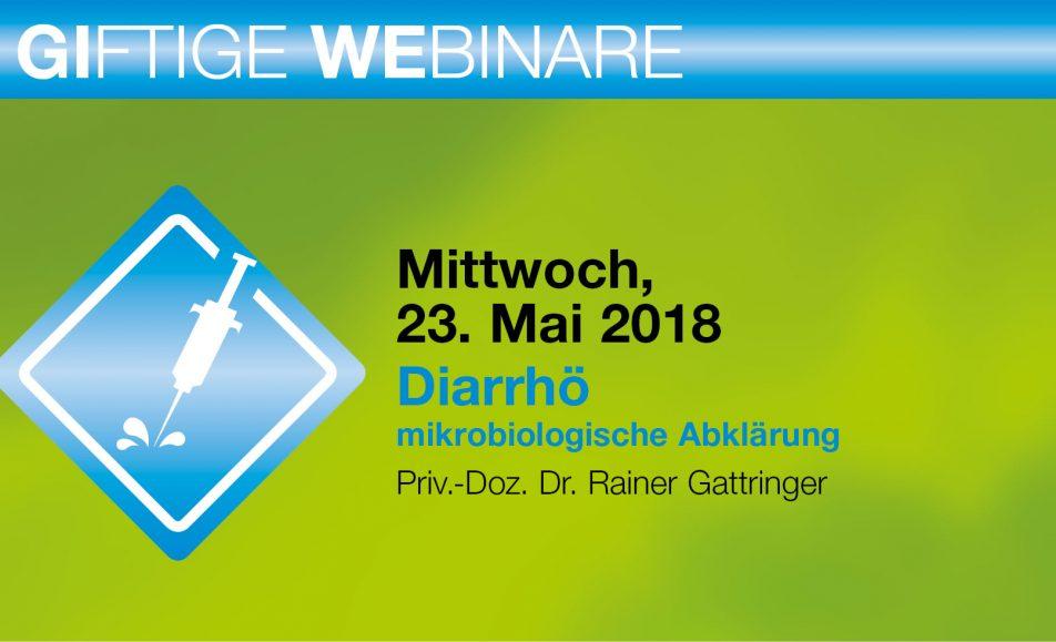 Diarrhö – mikrobiologische Abklärung
