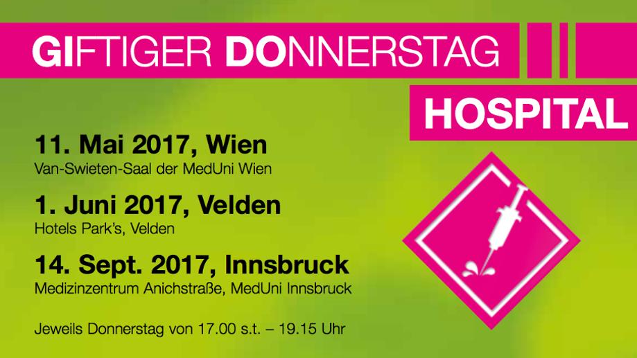 Giftiger Donnerstag Hospital, Innsbruck